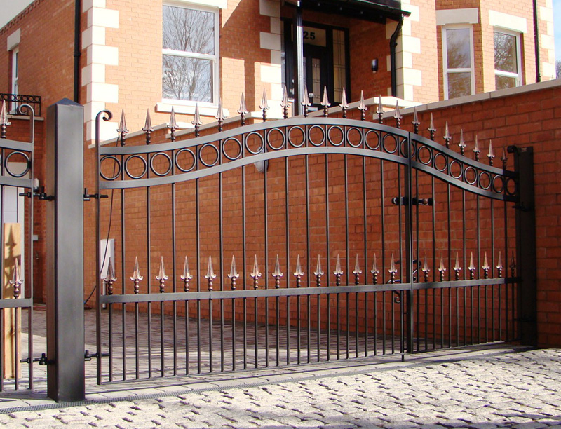 Wrought Iron Gates And Railings Chester Deeside Flintshire